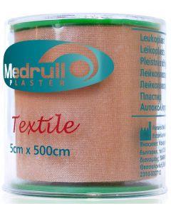 Buy Medrull Medrull medical adhesive plaster' Textile 'medical adhesive plaster, rolled on a textile base # 5x500 cm | Online Pharmacy | https://buy-pharm.com