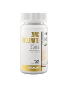 Buy Maxler Zinc Picolinate 25 mg (Zinc Picolinate), 120 vegetarian capsules | Online Pharmacy | https://buy-pharm.com