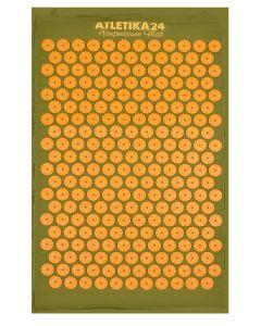 Buy Massage acupuncture mat, Kuznetsov's applicator, green-orange | Online Pharmacy | https://buy-pharm.com