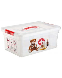 Buy Organizer box (container for medicines) home first aid kit 10l. Handle, 2 trays | Online Pharmacy | https://buy-pharm.com