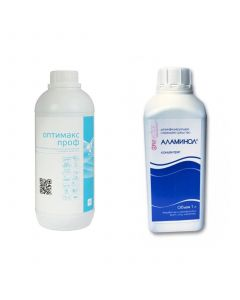 Buy Disinfectant and detergent Alaminol + Optimax Prof | Online Pharmacy | https://buy-pharm.com