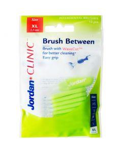 Buy Interdental brushes Jordan Clinic Brush Between 0.8 mm XL   Online Pharmacy   https://buy-pharm.com
