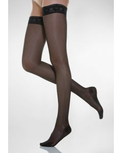 Buy Relaxsan stockings 1 class of Stay-up LADY compression with elastic, black, size 3 | Online Pharmacy | https://buy-pharm.com