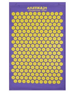 Buy Massage acupuncture mat, Kuznetsov's applicator, violet-yellow | Online Pharmacy | https://buy-pharm.com