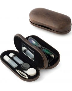 Buy Balvi Case for glasses and contact lenses l'Hedoniste, color: brown | Online Pharmacy | https://buy-pharm.com