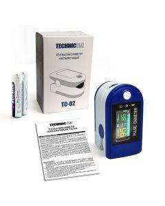 Buy Medical finger pulse oximeter for measuring pulse and blood oxygen level Technicom TC- 02 | Online Pharmacy | https://buy-pharm.com