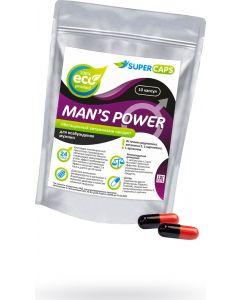 Buy Capsules stimulating Man's Power + Lcarnitin for men, 10 pcs. | Online Pharmacy | https://buy-pharm.com