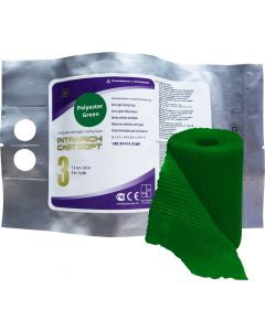 Buy Polymer bandage Intrarich IR-SC0032, semi-rigid (soft) cast Soft, green, 7.5cm x 3.6m | Online Pharmacy | https://buy-pharm.com