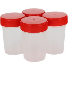 Buy 60ml sterile test container with 4pcs lid | Online Pharmacy | https://buy-pharm.com