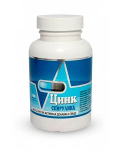 Buy BAA Zinc spirulina Biotics-C 60 | Online Pharmacy | https://buy-pharm.com