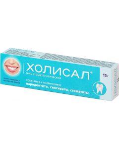 Buy Holisal gel tube 15 g | Online Pharmacy | https://buy-pharm.com