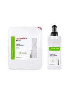 Buy Hand antiseptic 5 liters / Sanitizer, mixture of HOURS, alcohol-free + empty bottle for 1 liter | Online Pharmacy | https://buy-pharm.com