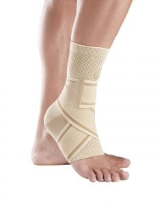 Buy Orthoses for lower extremities ORLIMAN Dynamic ankle brace with elastic straps, beige, size S / 2 (19-20 cm) TOB-500B | Online Pharmacy | https://buy-pharm.com