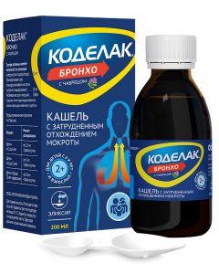 Buy Codelac Broncho with thyme elixir, 200 ml   Online Pharmacy   https://buy-pharm.com