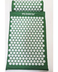 Buy Acupuncture set of applicators Kuznetsova roller + mat, green | Online Pharmacy | https://buy-pharm.com