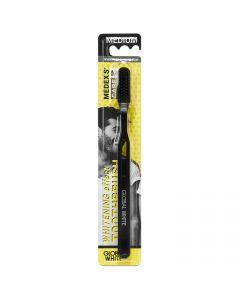 Buy Whitening toothbrush / Medium Medium black handle / black bristles | Online Pharmacy | https://buy-pharm.com
