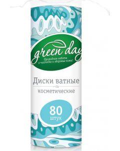 Buy Greenday Cotton pads, 80 pcs   Online Pharmacy   https://buy-pharm.com