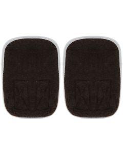 Buy Bio-Textiles Knee pad, elbow pad with sheep fur, color: brown. Size XL / 3XL | Online Pharmacy | https://buy-pharm.com