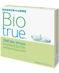 Buy Contact lenses Bausch + Lomb Bausch + Lomb Contact lenses 90 Biotrue ONEday pcs / 8.6 One-day, -1.50 / 14.2 / 8.6, 90 pcs. | Online Pharmacy | https://buy-pharm.com
