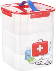 Buy Idea storage container 'First aid kit', with inserts, 10 l | Online Pharmacy | https://buy-pharm.com
