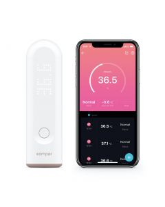 Buy Smart infrared thermometer Comper with Apple Health support, white | Online Pharmacy | https://buy-pharm.com