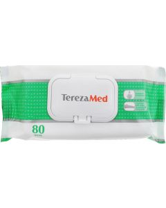 Buy Tereza Wet Cleansing Wipes with Aloe (160 pcs-2pack * 80 pcs) | Online Pharmacy | https://buy-pharm.com