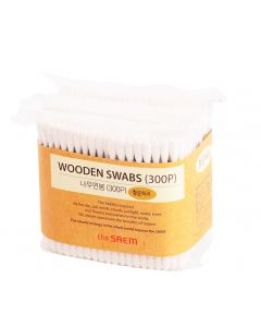 Buy The Saem Wooden Swab cotton swabs, 300 pieces   Online Pharmacy   https://buy-pharm.com