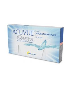Buy Contact lenses Johnson & Johnson Acuvue Oasys with Hydraclear Plus (bc 8.8) Biweekly, -2.50 / 14 / 8.8, 6 pcs. | Online Pharmacy | https://buy-pharm.com
