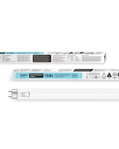 Buy Germicidal lamp for recirculators, SWEKO SSL UVC SSL-T8-UVC-15W-G13-BG, without ozone release | Online Pharmacy | https://buy-pharm.com