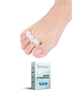 Buy ORTGUT Insert for the toes with three retaining rings | Online Pharmacy | https://buy-pharm.com