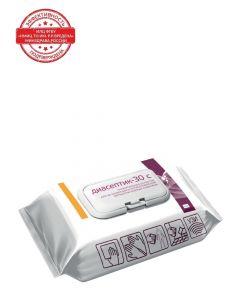 Buy INTERSEN-PLUS Diaseptic-30C universal antibacterial and disinfecting wipes, 120 pcs. | Online Pharmacy | https://buy-pharm.com