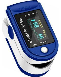 Buy Finger pulse oximeter for measuring blood oxygen and pulse, batteries included | Online Pharmacy | https://buy-pharm.com