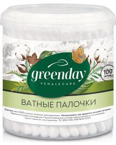 Buy Greenday Cotton buds, 100 pcs   Online Pharmacy   https://buy-pharm.com