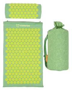 Buy Comfox Classic massage mat and roller, massager-applicator, green | Online Pharmacy | https://buy-pharm.com
