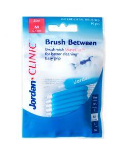 Buy Interdental brushes Jordan Clinic Brush Between 0.6 mm M   Online Pharmacy   https://buy-pharm.com