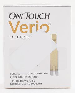 Buy Test strips 'OneTouch Verio', 50 pcs | Online Pharmacy | https://buy-pharm.com