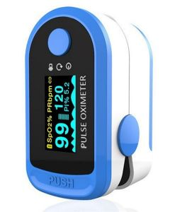 Buy Digital finger pulse oximeter (oximeter) Aiqura # AD805 with batteries # AD805  | Online Pharmacy | https://buy-pharm.com