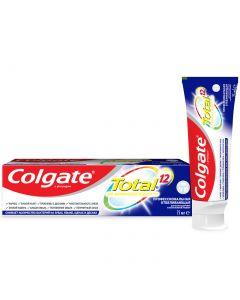 Buy Toothpaste Colgate Total 12 'Professional whitening ', antibacterial, 75 ml | Online Pharmacy | https://buy-pharm.com