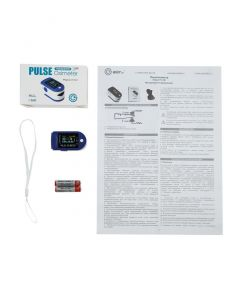 Buy Medical finger pulse oximeter for measuring oxygen in the blood LY-L12 | Online Pharmacy | https://buy-pharm.com
