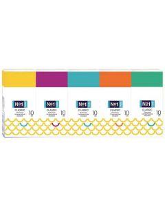 Buy Bella №1 Classic two-layer handkerchiefs 10x10 pcs | Online Pharmacy | https://buy-pharm.com