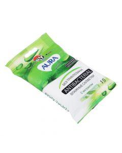 Buy Aura Wet Wipes, antibacterial | Online Pharmacy | https://buy-pharm.com