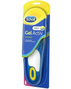 Buy Sports insoles for women Scholl GelActiv Sport. Size 35/40 | Online Pharmacy | https://buy-pharm.com