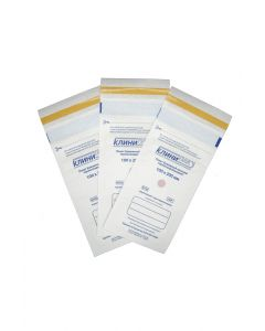 Buy Heat sealable paper bags Klinipak 100mm x 200mm white | Online Pharmacy | https://buy-pharm.com