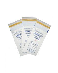 Buy Heat sealable paper bags Klinipak 100mm x 200mm white | Online Pharmacy | https://buy-pharm.com
