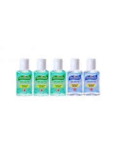 Buy Sanitelle antiseptic hand gel with aloe extract and vitamin E 5pcs x 50ml    Online Pharmacy   https://buy-pharm.com