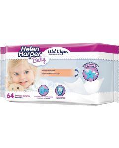 Buy Wipes Helen Harper Baby 64 pcs | Online Pharmacy | https://buy-pharm.com