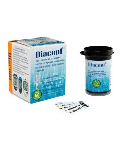 Buy Test strips for the Diacont blood glucose monitoring system, 50 pcs | Online Pharmacy | https://buy-pharm.com