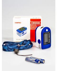 Buy CONTEC Finger Pulse Oximeter for oxygen measurement in blood | Online Pharmacy | https://buy-pharm.com