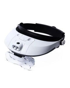 Buy MELT Binocular magnifier with illumination, 5 lenses with magnification from 1x to 6x | Online Pharmacy | https://buy-pharm.com