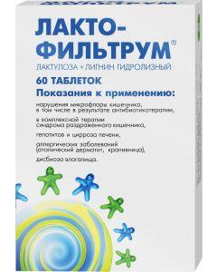 Buy Lactofiltrum tab. 500mg # 60  | Online Pharmacy | https://buy-pharm.com